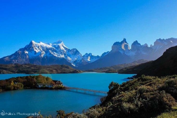 Lake Pehoe, Chile, South America