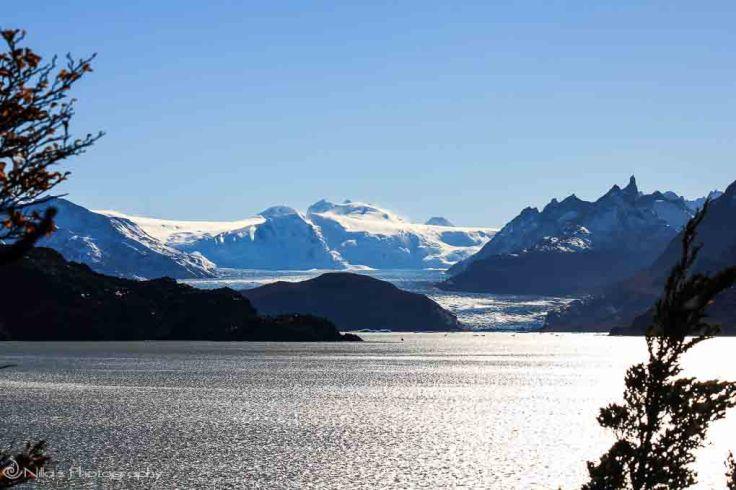 Lake Grey, Chile, South America