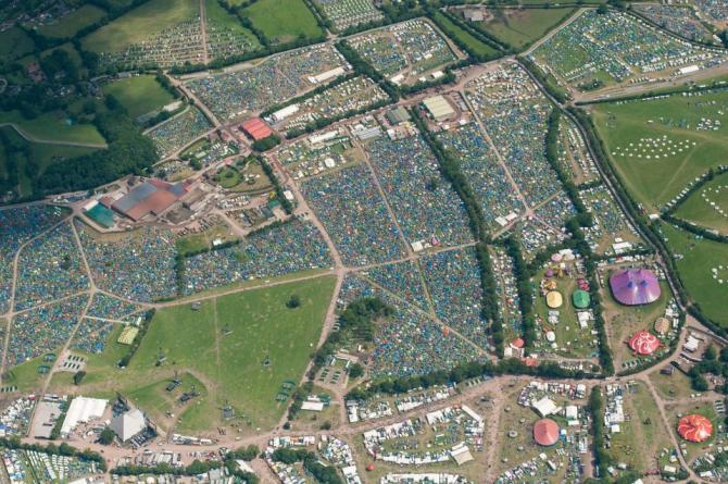 Pilton, Glastonbury Festival, Somerset, England, United Kingdom