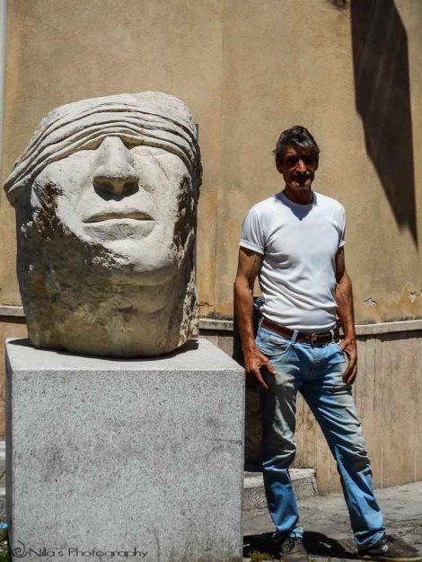 Rogliano, Calabria, Italy, sculpture