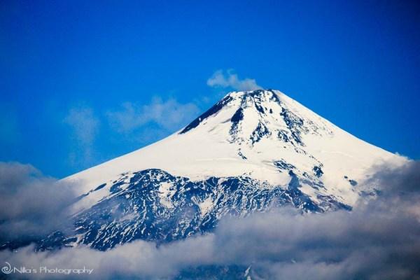 Vulcán Villarrica, Pucón, Chile, South America