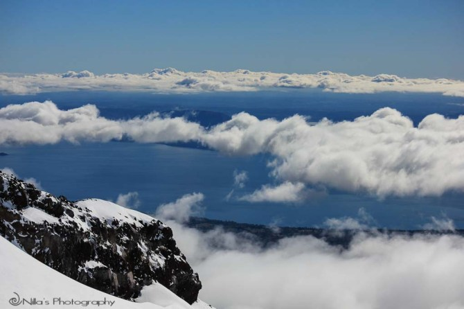 Vulcán Villarrica, chile, South America, trekking