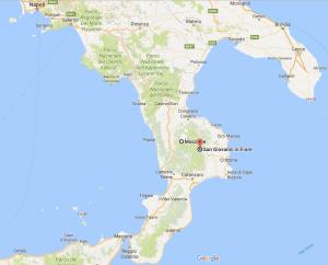 Moccone, S. Giovanni in Fiore, Calabria