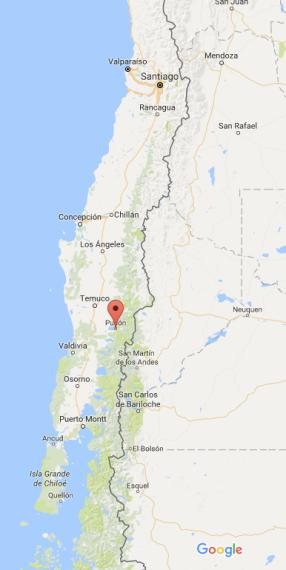 Pucón, Chile, volcano, Villaricca