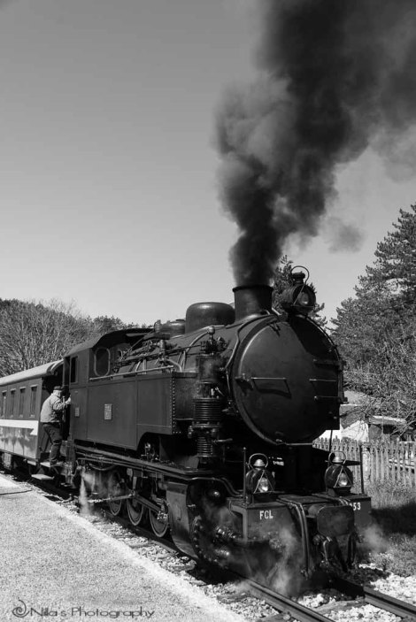Moccone, Calabria, Italy, steam train