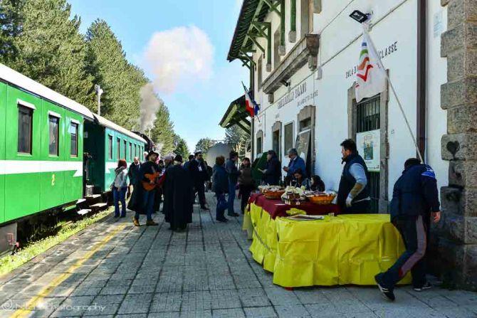 Camigliatello Silano, Calabria, Italy, steam train