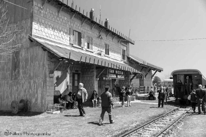 San Nicola, Calabria, Italy, steam train