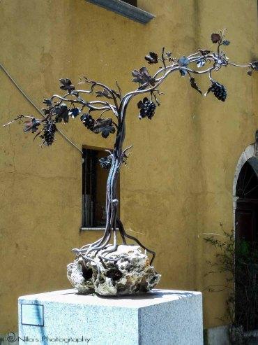 Sculpture, Old Town, Corso, Rogliano, Calabria, Italy, Europe