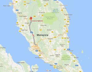 Kuala Lumpur, Cameron Highlands, Malaysia