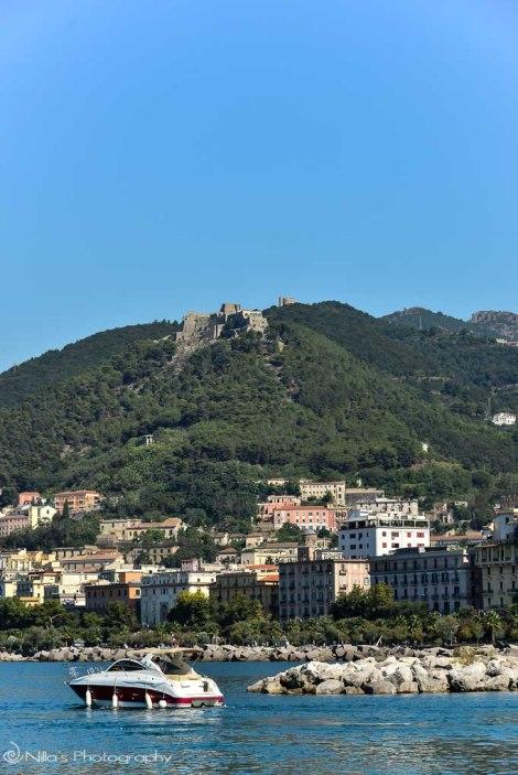 Salerno, Castello di Arechi, Amalfi, coast, Italy