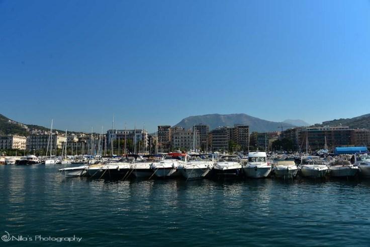 Salerno, Amalfi, coast, Italy
