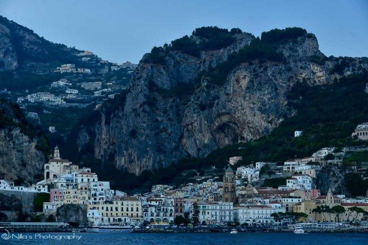 Amalfi, coast, Italy, boat