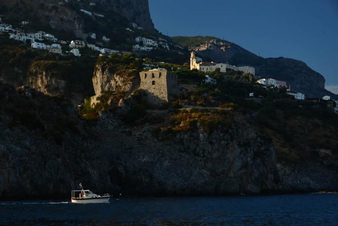 Positano, Amalfi coast, Italy, boat