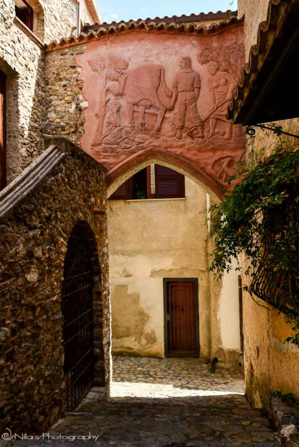 Scalea, Old Town, Calabria, italy