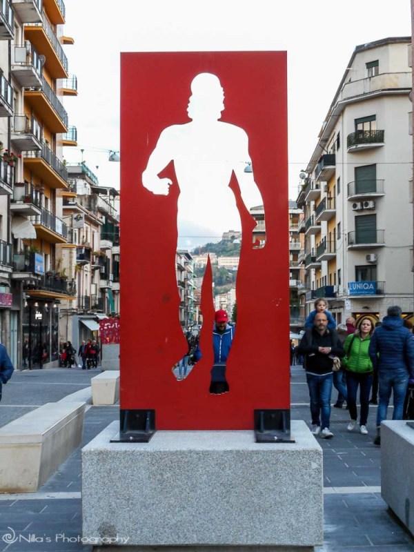 Corso Mazzini open air museum