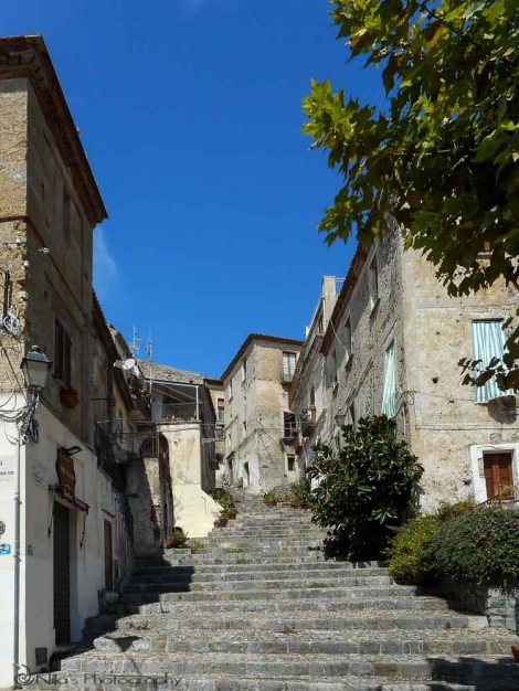 Old Town, Scalea, Calabria, Italy