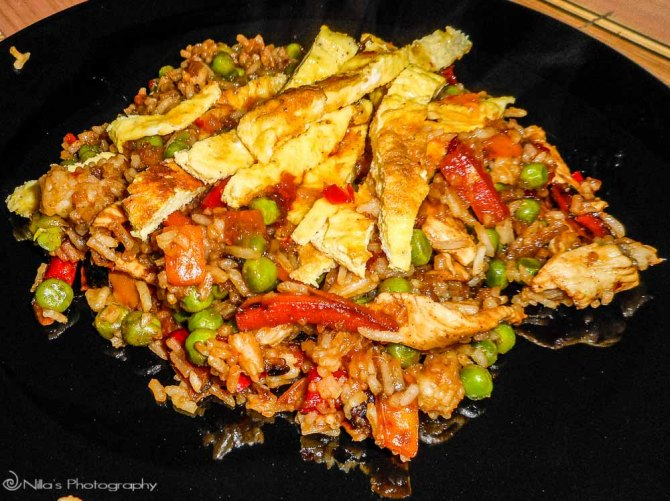 Thai, stir-fry, chicken