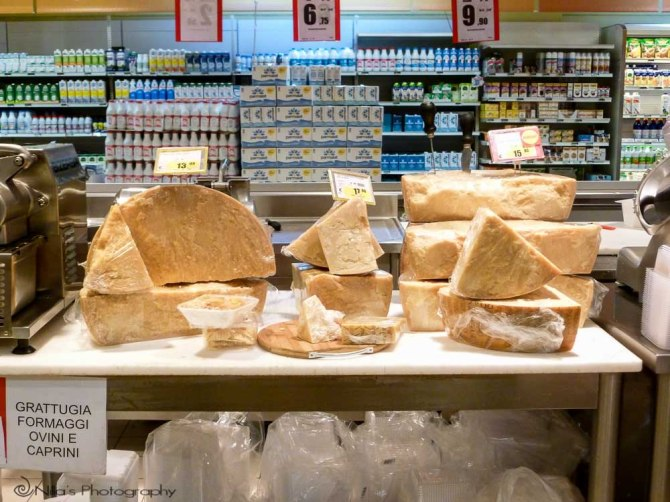 Supermarket, Cosenza, Calabria, Italy