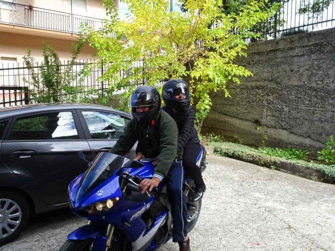 Motor bike, Parenti, Calabria, Italy