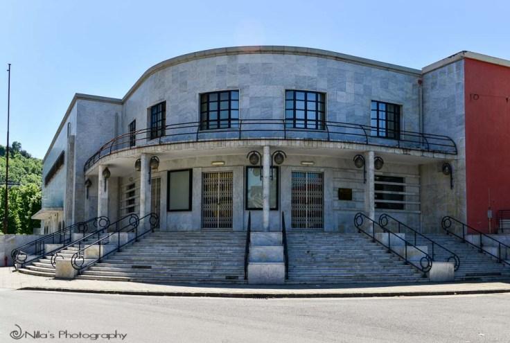 Art Deco, Fascist, Cosenza, Calabria, Italy