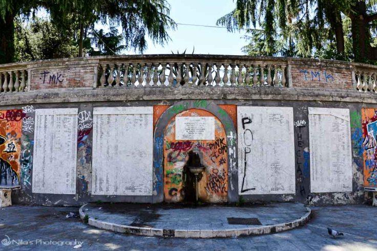 XXV Luglio, fountain, Cosenza, Calabria, Italy
