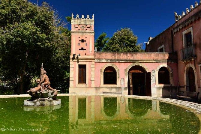 La Villa Landolina, Syracuse, Sicily, Italy
