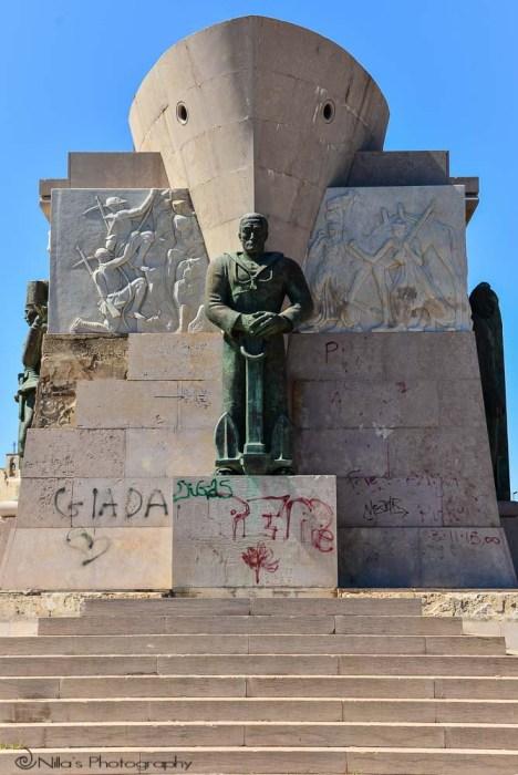Monumento ai Caduti Italiani d'Africa, Syracuse, Sicily, Italy