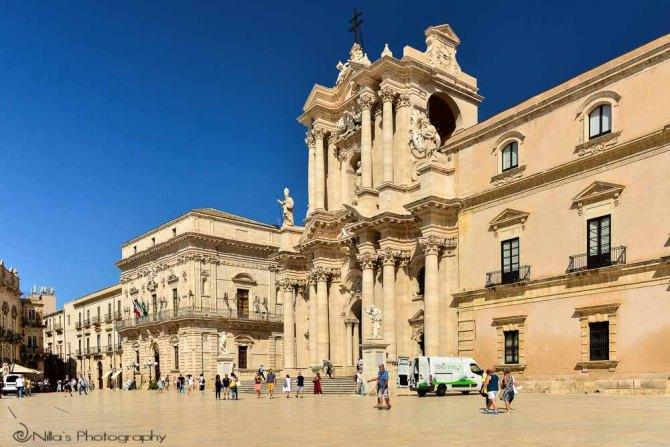 Duomo, Ortigia, Syracuse, Sicily, Italy