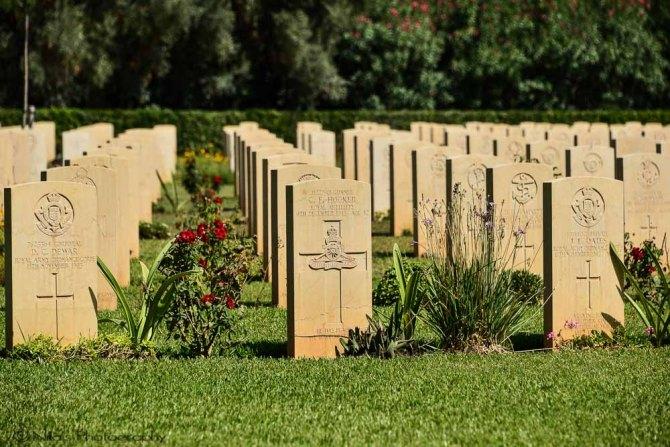 Syracuse War Cemetery, Syracuse, Sicily, Italy