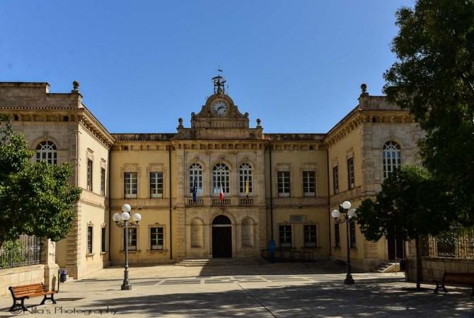 Palazzo La Pira, Pozzallo, Sicily, Italy