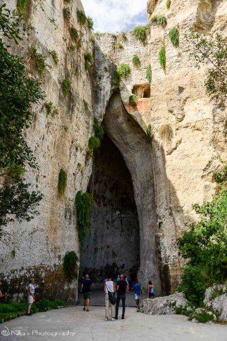 Ear of Dionysus, Syracuse, Sicily Italy