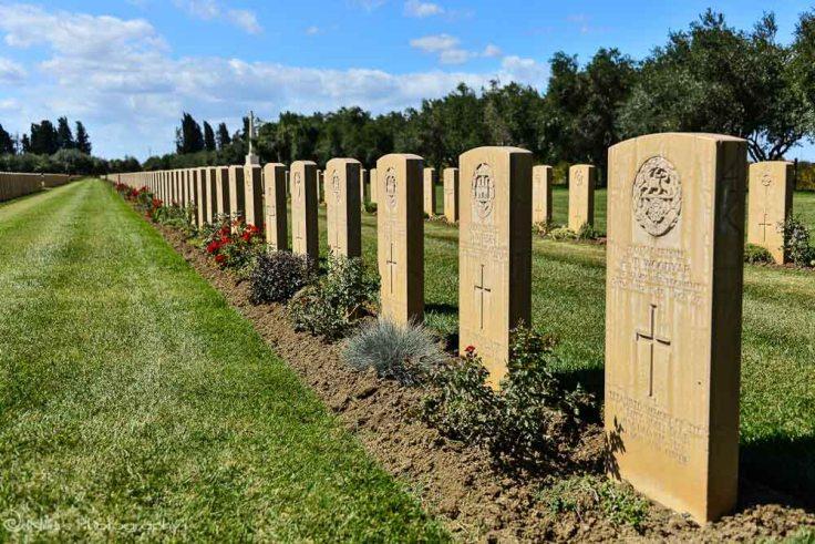 War cemetery, Catania, Sicily, Italy