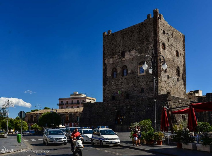 Castello Normanno, Adrano, Sicily, Italy