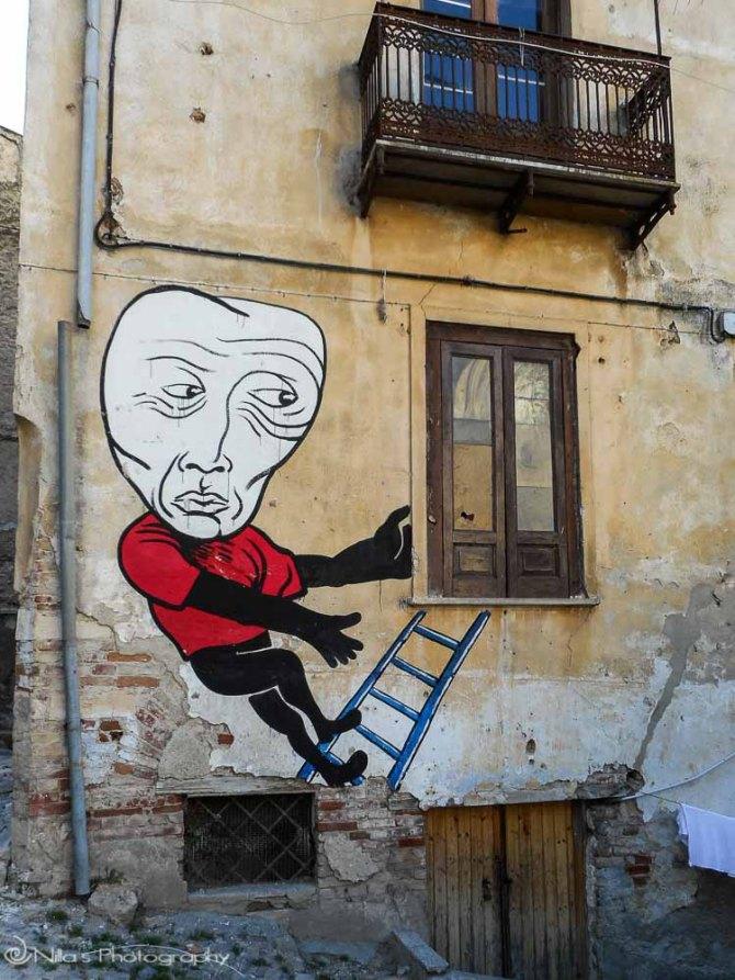 street art, Cosenza, Calabria, Italy