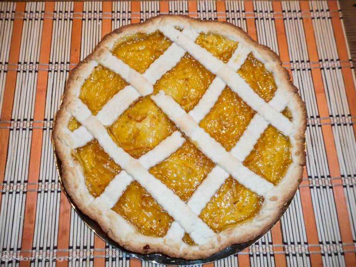 citrus tart, Syracuse, Sicily, Italy