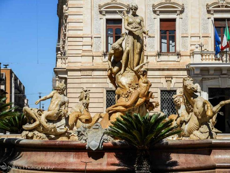 Diana, Ortigia, Syracuse, Sicily, Italy