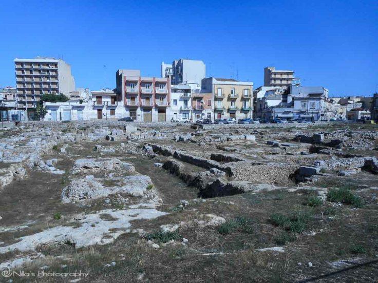 Ruins, Syracuse, Sicily, Italy