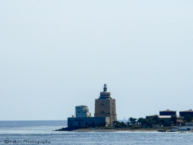 Faro di San Raineri, Messina, Sicily, Italy