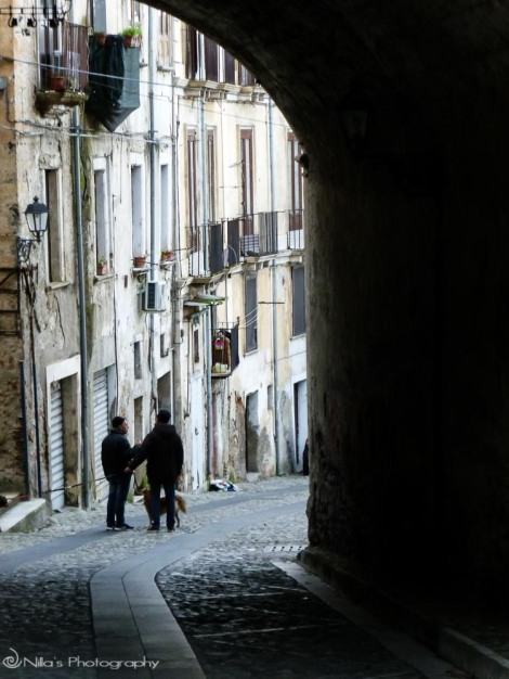 Old Town, Cosenza, Calabria, Italy
