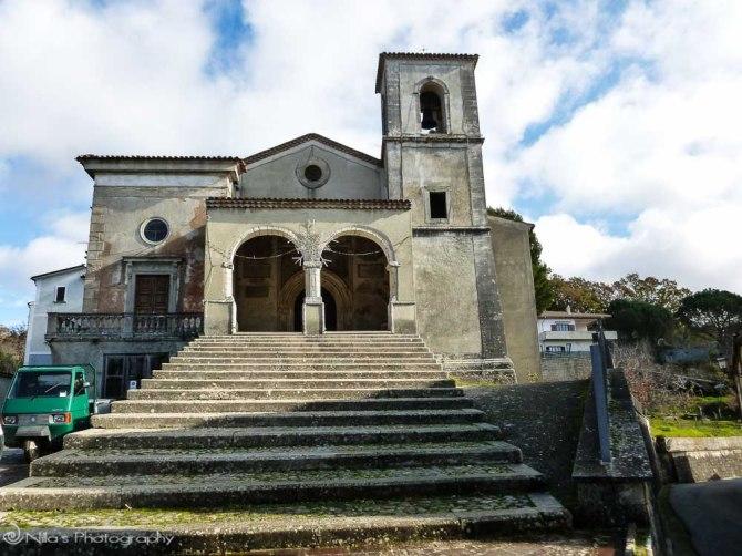 Il Santuario della Madonna delle Grazie, Carpanzano, Calabria, Italy