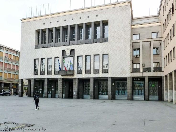 City Hall, Cosenza, Calabria, Italy