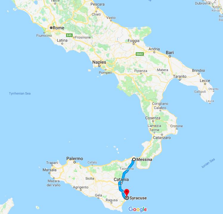 9 days around Syracuse Sicily Part 1 Image Earth Travel