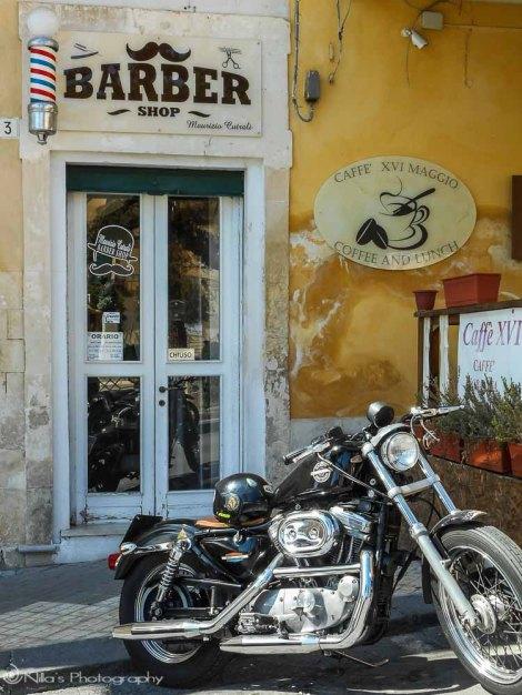 Barber, Noto, Sicily, Italy