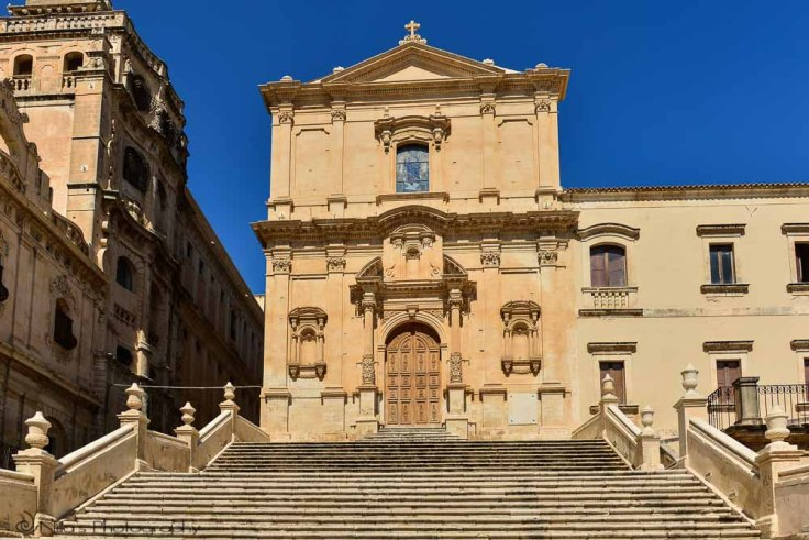 Church of San Francesco d'Assisi (Immacolata), Noto, Sicily, Italy