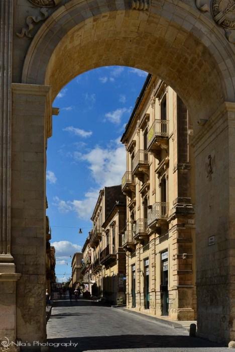 L'Arco di Trionfo, Noto, Sicily, Italy