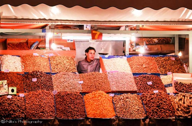 Jamaa el Fnaa Square, Marrakech, Morocco, Africa