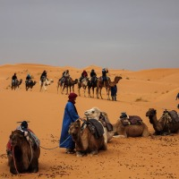 Into the Sahara, Morocco