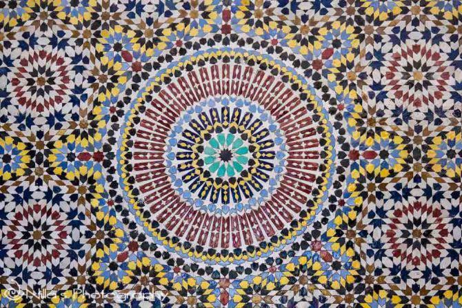 Zellij, Fes, Morocco, Africa