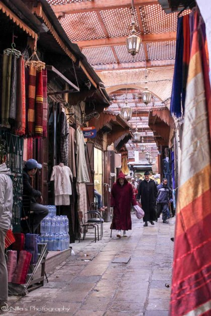 Market, Fes, Morocco, Africa
