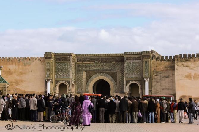 Bab el-Mansour, Meknès, Morocco, Africa